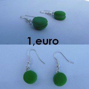 Boucles d'oreilles macaron vert. bo-macaron-ve-300x300
