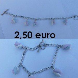 Bracelet marshmallow. bracelet-chamalow-300x300